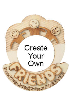 Create Your Own Personalized Friends Fridge Magnet