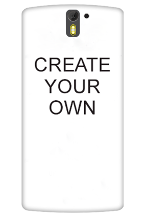 3D - Create Your Own OnePlus One Mobile Cover