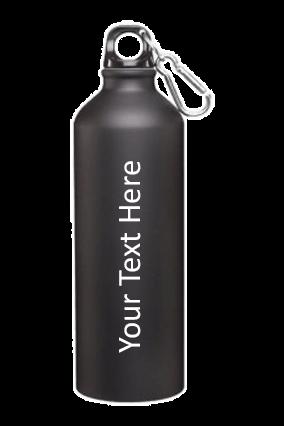 Black Matt Sports Bottle 750ml