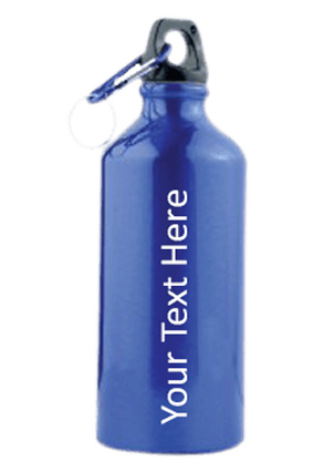 Blue Gloss Sports Bottle 500ml