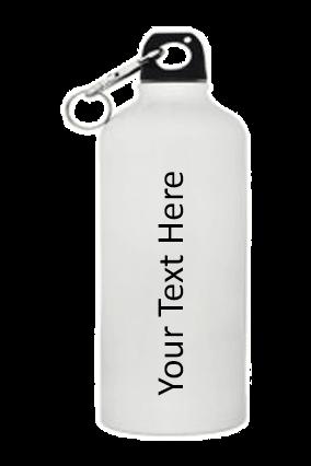 White Gloss Sports Bottle 500ml