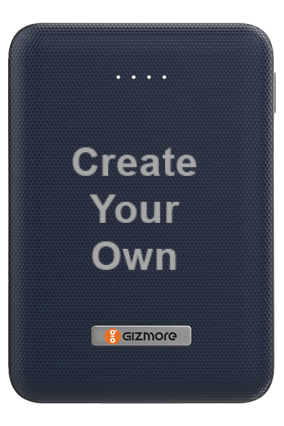 Create Your Own-Gizmore Power Bank 10000mah (Li-Poly) Giz Pb10Kp