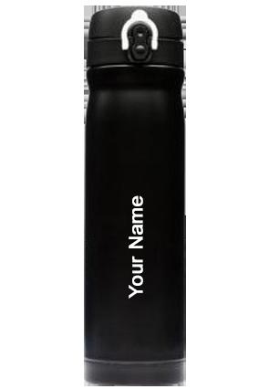 Matt Finish Flask Black (500 Ml) Black-GM-144