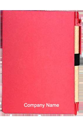Hard Bound Eco Notebook Pink-GM-314