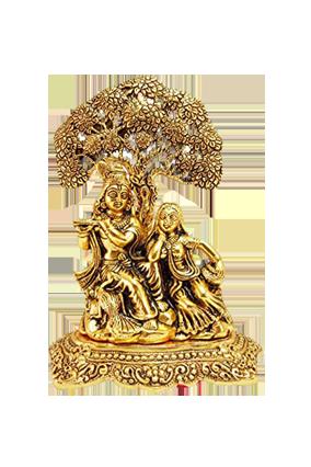 Golden Radha Krishan