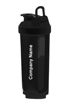 Tornado shaker with mixer ball (with box) Black-H129