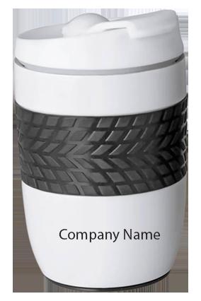 Ferrero Stainless Steel Magic Coffee Mug (300 Ml Approx) (Spill Free Design)-H138