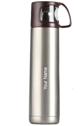 H68-Power Plus Vacuumized Travel Flask 700 Ml - Brown