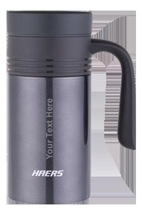 Haers Vacuum Mug 380Ml Black