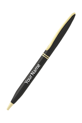 Hercules Fagemann Black With Gold Pen IDF-9073