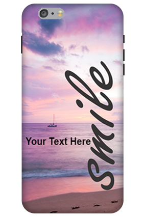 3D-Apple iPhone 6 Plus Smile-quote Mobile Cover