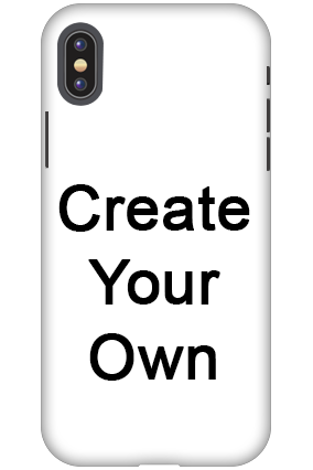 3D - Create Your Own Apple iPhone X Mobile Cover