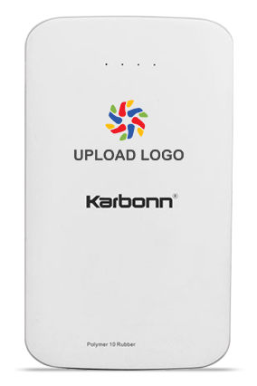 Upload Logo 10000mAh Karbonn Power Bank