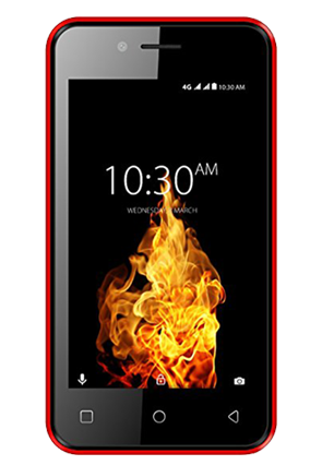 Karbonn A41 Power (Black-Red)