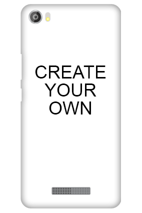 Silicon-Create Your Own Lava Iris X8 Mobile Cover