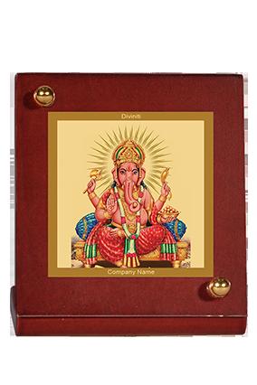 Ganesha Car Frame Mdf 1B
