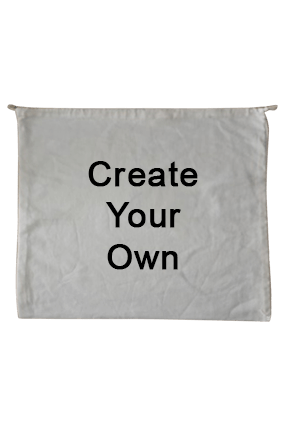 Create Your Own Mini Laundry Cotton Bag 21.7X17.7 Tote Bag