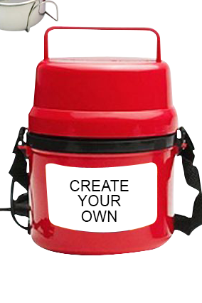 Create Your Own Electra Lunch Box H07 Red