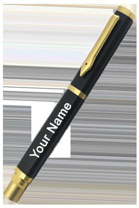 Black Fountain Pen-Fp-02