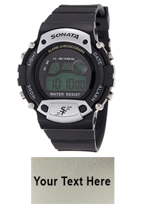 SF Grey Dial Digital Watch for Men