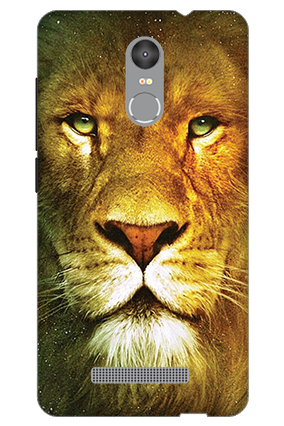 Custom 3D-Redmi Note 3 Lion Face Mobile Cover