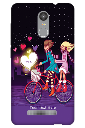 3D - Redmi Note 3 Ride Valentine's Day Mobile Cover