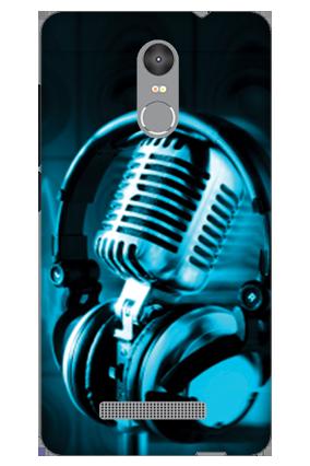 3D - Redmi Note 3 Headphones Mobile Cover