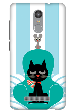 3D - Redmi Note 3 Cat Mobile Cover