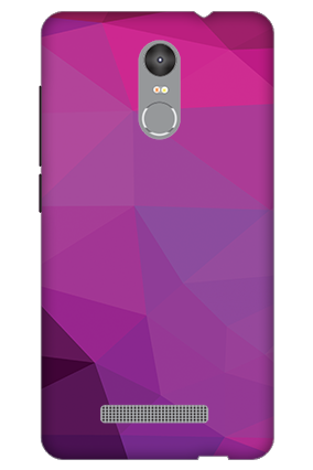 3D - Redmi Note 3 Purple Mobile Cover
