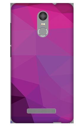 3D - Redmi Note 3 Purple Mobile Cover