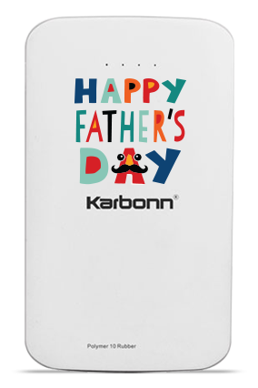 Awesome Dad 10000mAh Karbonn Power Bank