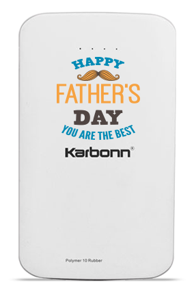 Greatest Dad 10000mAh Karbonn Power Bank