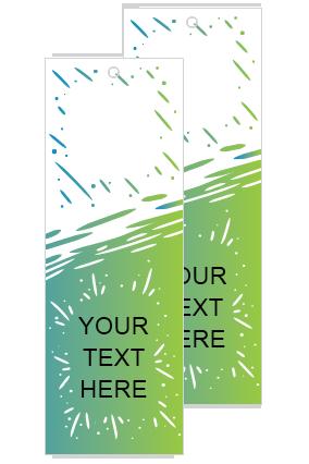 Classy Green Bookmark