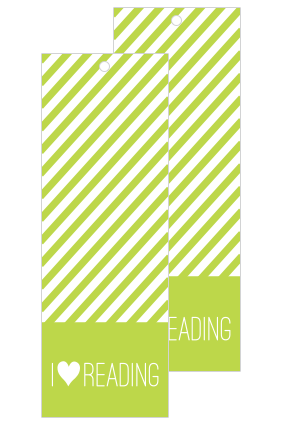 Green Bookmark