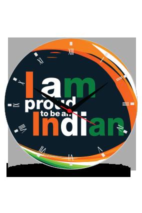 Proud Indian Wall Clock