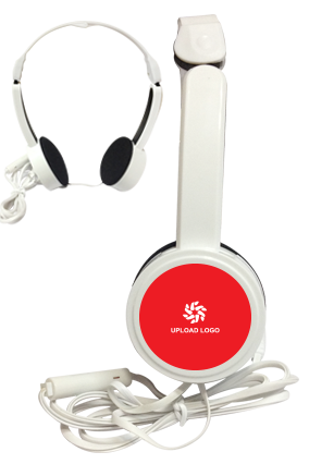 Red Color Headphone