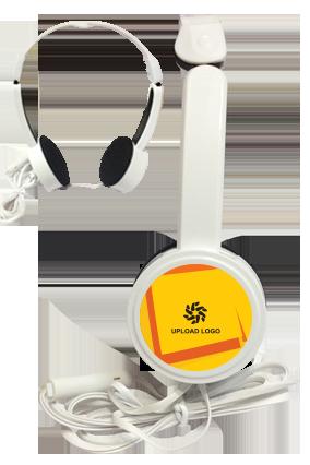 Yellow Color Headphone