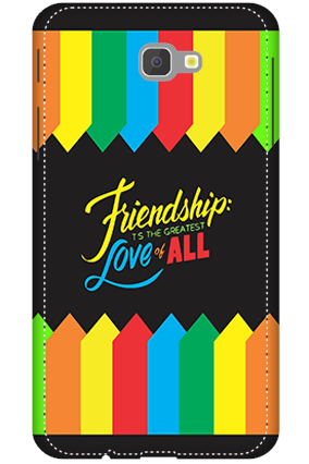 3D - Samsung Galaxy J7 Prime Friendship Is Love Mobile Cover
