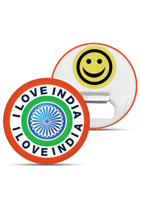 I Live India Magnet