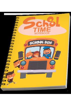 Effit School Time Notebook