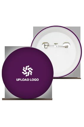 Purple Logo Badge