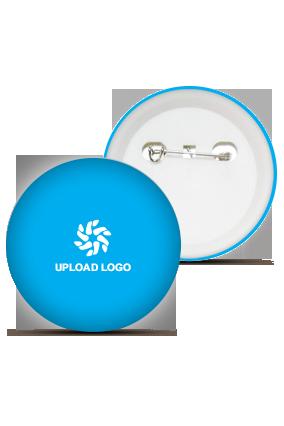 Dark Blue Logo Badge