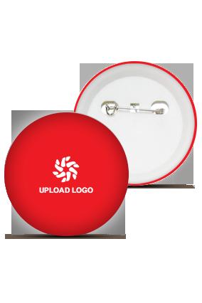 Red Logo Badge