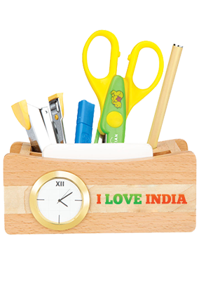 I Live India Pen Stand