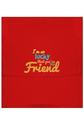 Lucky Red Cap
