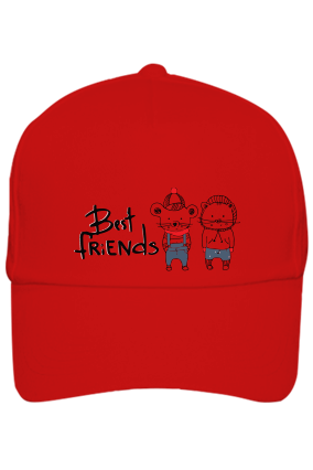 Best Friend Red Cap