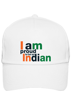 Personalized Proud Indian White Cap