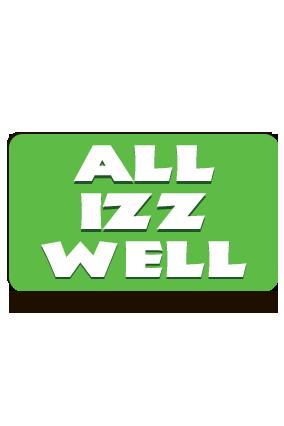 All Izz Well Landscape MDF Magnet