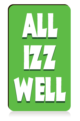 All Izz Well Portrait MDF Magnet