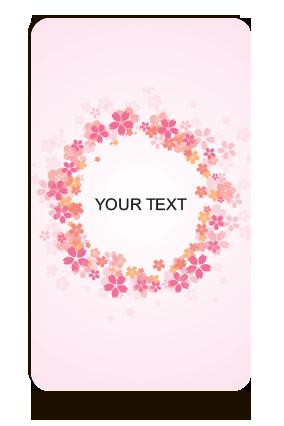 Text Portrait MDF Magnet